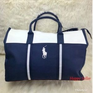 Polo Duffel Bag Gym Luggage Holdall Weekender Tote